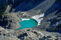 New Glacier Meltwater Pond