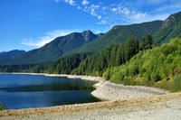 Capilano Reservoir - looking a little low