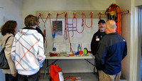 NSR Open House - rope rescue demo
