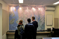 NSR Open House - wall map