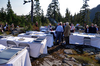 Catered dinner on the mountain top
