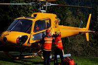 2013-11-10 - North Shore Rescue - Helicopter Hover Entry/Exit and HETS Awareness Training