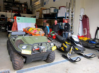 NSR Open House - Argo and snowmobile