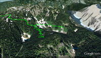 2012-08-08 - NSR Task - Gopher Lake search - Google Earth 3d